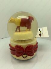 """Cow Parade Musical Snow Globe Tune:""""Diamonds Are A Girls Best Friend"""" By West"""