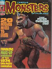 Famous Monsters Of Filmland No 118 1975 Peter Cushing Make-Up Kino Horror