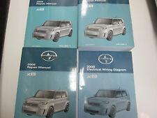 2008 Toyota Scion xB XB X B Service Shop Repair Manual Set OEM FACTORY NEW W EWD