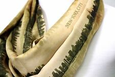 New York infinity scarf Manhattan skyline birthday gift for her memorial present