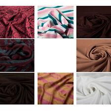 100% Cotton Jersey Stretch Fabric Premium Quality Upholstery Fashion Craft