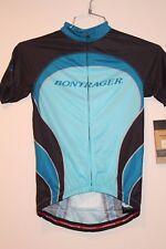 Bontrager Race Lite Fit Short Sleeve Women's Jersey Large Blue/Black New