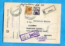 1963 SIR.£.30 + MICH.£.100 ann.PALMA MONTECHIARO per la GERMANIA  (207894)