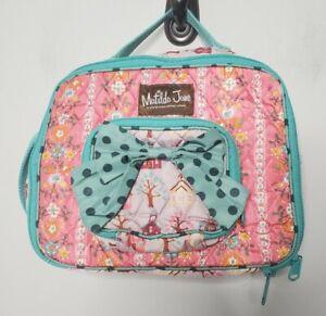 Matilda Jane Lunchbox Bag Girls Pink Blue