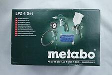 Metabo Kompressor Zubehör-Set LPZ 4 Set Schlauch Lackierpistole Reifenfüler