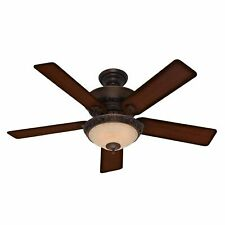 "Hunter Italian Countryside 52"" Indoor Ceiling Fan - 5 Reversible - Cocoa"