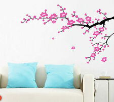 Pink Cherry Blossom Wall Decor Large Huge Home Decoration Flowers