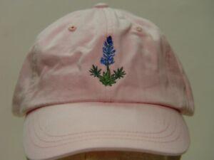 BLUEBONNET WILDLIFE HAT WOMEN MEN FLOWER BASEBALL CAP Price Embroidery Apparel
