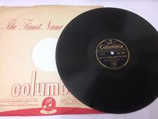"""JOHNNIE RAY 10"""" 78 RPM Record. THE LITTLE WHITE CLOUD THAT CRIED."""