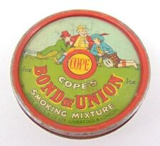 More details for vintage cope's bond of union smoking mixture tobacco tin - trinkets - liverpool