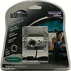 Next Products USB 2.0 Smart Webcam with 3 LEDs Built-in Microphone 3 MP