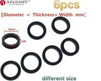 6pcs Idle Wheel Belt Loop Idler Rubber Ring for Cassette Deck Recorder Tape
