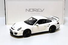 1:18 NOREV porsche 911 (997) gt2 white 2007 New chez premium-MODELCARS