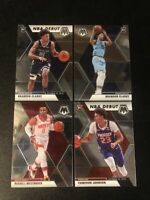 Rookie Card Lot - 2019-20 Panini Mosiac Basketball Westbrook/Johnson/Clarke