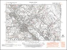 Aberdare, old map Glamorgan 1948: 11SE repro Wales