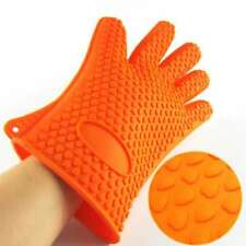 Silicone Heat Resistant Multi-Purpose Grilling BBQ Gloves