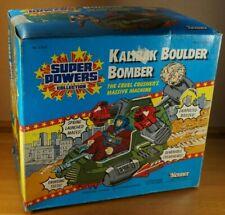 Super Powers Collection Kalibak Boulder Bomber 1985 Kenner Heroes Unused MIB !