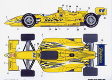 1/25 CART Telefonica decal /F1 Tamiya