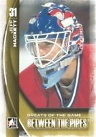 2013-14 Between the Pipes #114 Jeff Hackett GOTG