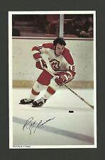 Rey Comeau Vintage Atlanta Flames 1970s Hockey Postcard