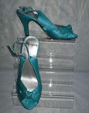 Satin Slim Formal Shoes Slingbacks for Women