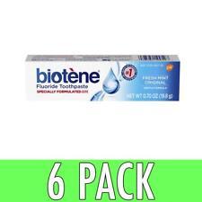 Biotene Fluoride Toothpaste Fresh Mint 0.7 oz 6 Pack