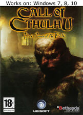 Call of Cthulhu Dark Corners of the Earth + Elder Scrolls Arena + Daggerfall PC