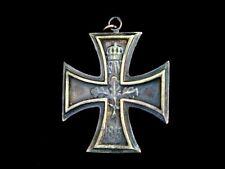 Eisernes Kreuz 1914 Anhänger aus Bronze EK1 EK2 Orden Harley Davidson