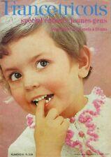 Revue de mode Catalogue de tricot -  France tricot n°6 - Enfants - Ados - 50 mod