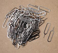 1000 Lot Eject Pin Tool - open iPhone iPad SIM Card Tray Wholesale 4S 4 3GS 5 5s
