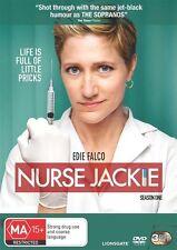 Nurse Jackie Season 1 DVD, 2010, 3-Disc REGION 4 BRAND NEW IN PLASTIC GENUINE