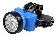 TORCIA FRONTALE A 12 LED LAMPADA RICARICABILE POTENTISSIMA LUCE LED-722B mshop