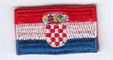 Kroatien mini Aufnäher,Aufbügler-Patch Croatia,Hrvatska,Croacia,Croatie