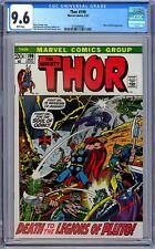 Thor #199 CGC 9.6 (May 1972, Marvel) Pluto & Hela Appearance. John Buscema Art!