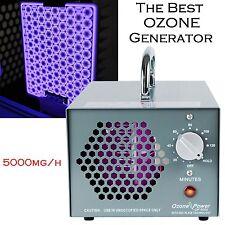 Air Purifier Ozone Generator Industrial Odor Smoke Mold Mildew Remover 5000mg