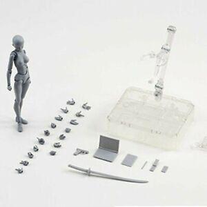 AU Drawing Figures For Artists Action Figure Model Human Mannequin Man Woman Kit