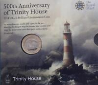 2014 Trinity House Brilliant Uncirculated £2 Two Pound Coin Pack Sealed