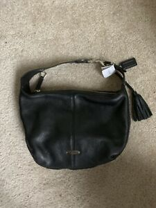 NEW COACH AVERY LEATHER SHOULDER BAG HOBO TOTE SATCHEL BLACK 23960 $298