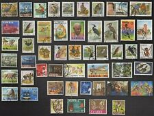50 ALL DIFFERENT ZAMBIA  STAMPS ALL YEARS