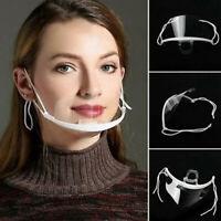 UK Large Mouth and Nose Visor (8.2cm) Adjustable Anti-Fog Anti-Saliva |KFPremium