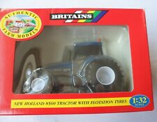 Britains New Holland 8560 Tractor with Flotation Tyres