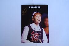Sister Act - Wien - Musical Autogrammkarte - Barbara Obermeier