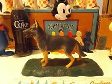 Vintage Bachmann Dogs Of The World German Shepherd Snap-Fit Model Kit Built up