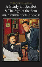 A Study in Scarlet (Wordsworth Classics), By Sir Arthur Conan Doyle,in Used but