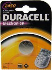 Duracell 3 V CR2450 Single Use Batteries