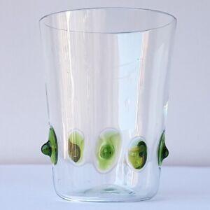 Jugendstil Becher Schnapsglas Glas Poschinger um 1910 - 1920 O460