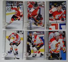 1996-97 Upper Deck UD Series 2 Calgary Flames Team Set of 6 Hockey Cards