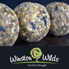 Suet Fat Balls Wild Bird Seed x150 Box High Quality (Handmade By Winston Wilds)