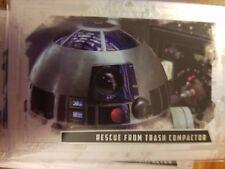 2017 Star Wars Masterwork R2-D2 #AR-6 Rescue from Trash Compactor FOIL 099/565