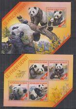 M428. Niger - MNH - Nature - Fauna - Wild Animals - Pandas - 2014